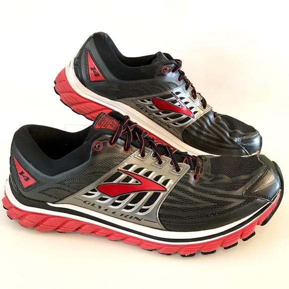 6921f99283e Brooks Other - Brooks Glycerin 14 Men s Running Shoe Black Red D